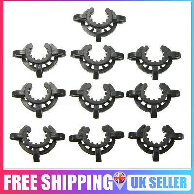 10Pc Plastic Lab Clip Keck Clamps National Standard For Glass Ground Taper Joint