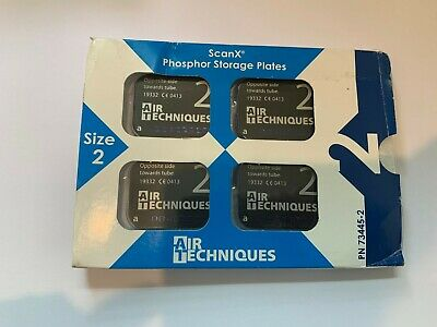 NEW IN PKG 4PCS Size 2 Air Techniques Inc  ScanX Phosphor Plates PN73445-2