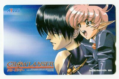 Tokyo Game Show 2000 SPRONG Growlanser Telephone Card (Teleca) series Vol.4 ...