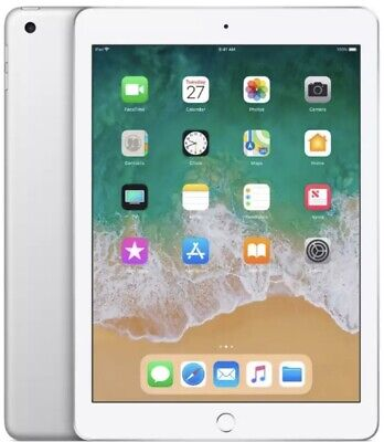 **SEALED** Apple iPad 6th Generation (2018) 32GB Wi-Fi Silver A1893 Warranty