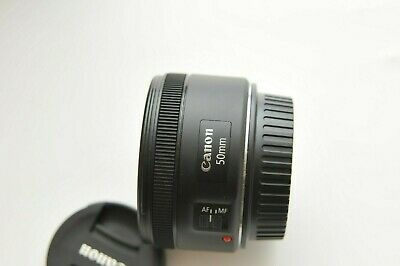 Canon EF 50mm f/1.8 STM Lens For 5D 7D Mark II 80D 70 T6I 5 4 3 1Dx