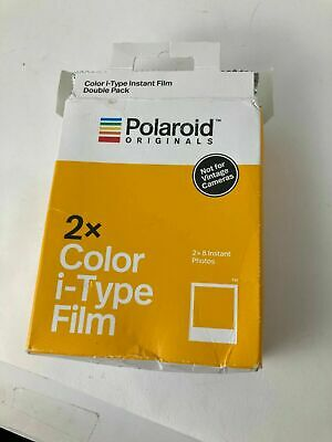 Polaroid Originals Color Glossy Instant Film for i-Type OneStep2 Cameras- 2-Pack