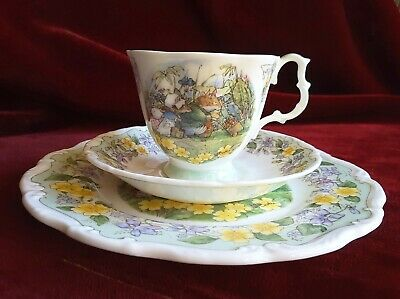 """Brambly Hedge Royal Doulton, """"The Outing"""" , 3-teilig, I. Wahl"""