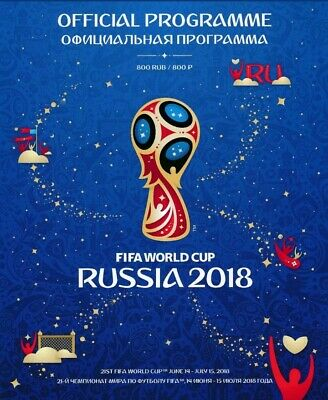 World Cup Final Russia 2018 Official Tournament Programme Brand New Mint