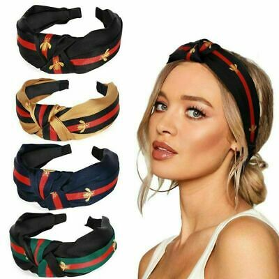 UK Women Bee Headband Fashionable Honeybee Knot Hair Band Ladies Finishing Hair