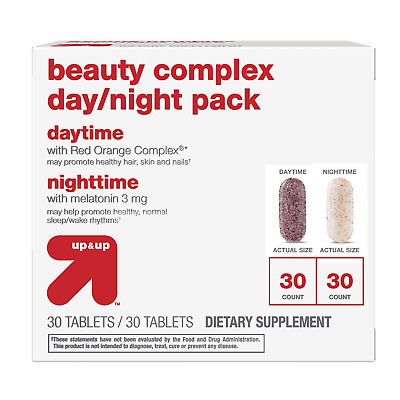 Beauty Complex Day + Night Tablets - 60ct - Up&Up