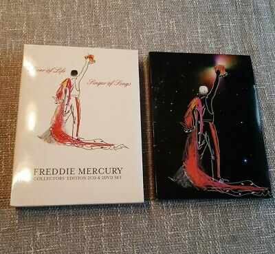 Freddie Mercury - Lover of Life - Singer of Songs - Collectors Edition - 4 Disc
