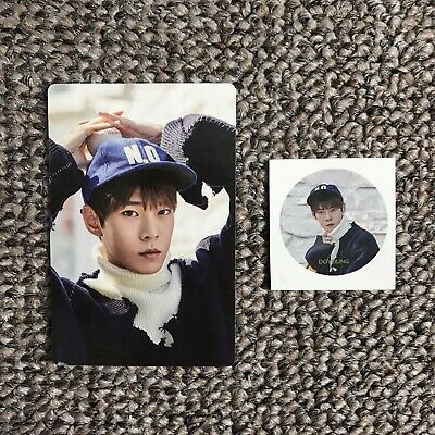 NCT Season's Greetings 2017 - Doyoung Photo Card + Sticker