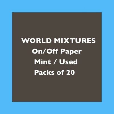 WORLD MIXTURE On/Off Paper - You choose