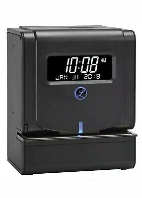 Lathem 2100 HD Heavy-Duty Thermal Print Time Clock, Gray NEW
