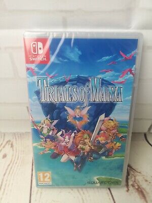 Trials of Mana - Nintendo Switch - New & Sealed, Home gaming, free postage