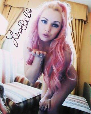 Lexi Belle  Movie Star Hand Signed 8 x 10 Glossy