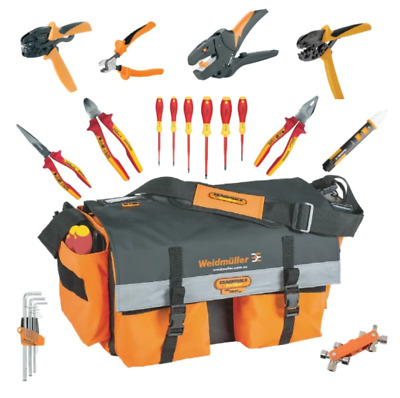 World No1 Weidmuller Premium Electrical Pro Tool Kit Bag Insulated Industrial