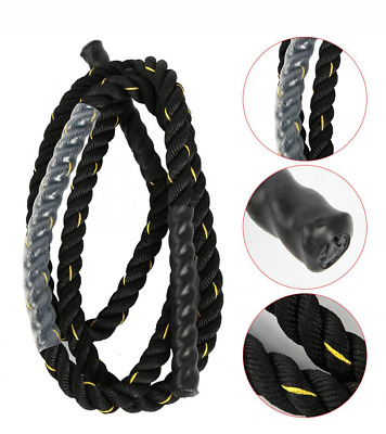 25mm Fitness Heavy Weighted Jump Rope Cross fit Weighted Battle Skipping Ropes