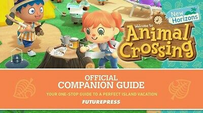 Animal Crossing New Horizons Official Companion Game Guide ( Read Description)