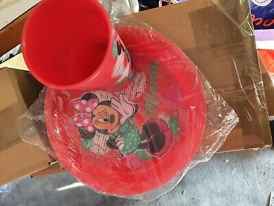 Minnie Mouse Cup Plate Set 3 d effect