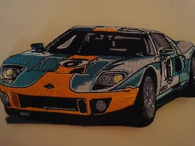 RARE 2005 06 FORD GT Sew On Patch Set