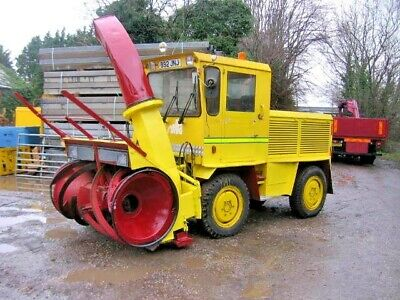 Rolba R 400 E Snow Blower Direct From The Council, Only 1042 Hours 1984
