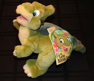 1988 THE LAND BEFORE TIME JC Penney 10'' DUCKY Plush Stuffed Dinosaur NEW w/Tags