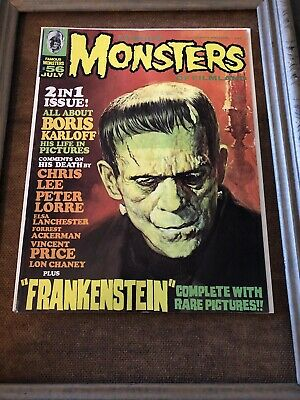 FAMOUS MONSTERS OF FILMLAND #56 (1969) KARLOFF Obituary, Lorre, GOGOS cover [NM]