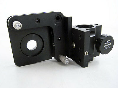 Newport 370-Rc Clamp With 600A-2R Optical Mirror Mount & Upa2-1 Adapter