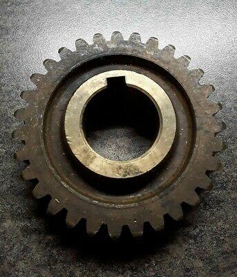 31 Tooth Brass Worm Gear for 1 In. Keyed Shaft