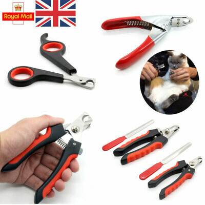 UK Pet Nail Clipper Dog Cat Rabbit Bird Guinea Pig Claw Trimmer Scissor Easy Use