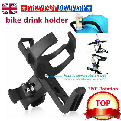1x Mountain Bike Cycling Alloy Kettle Rack Cup Water Bottle Cage Holder #sfg