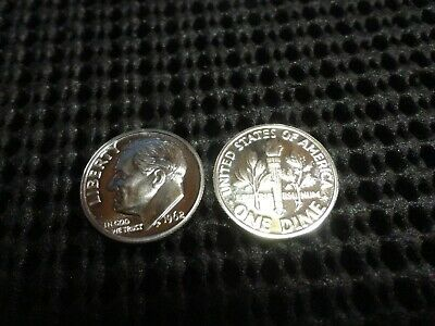Proof 1962 Roosevelt Dime 90% Silver