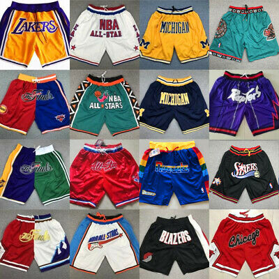 Kobe Bryant Stephen Curry LeBron James Harden Paul George Shorts Pants Jersey