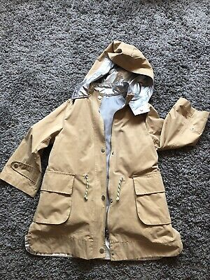 Girls Zara Coat Age 8