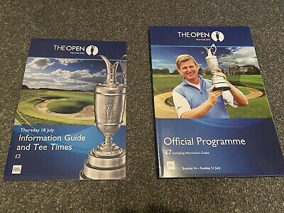 Open Championship 2013 (142nd Muirfield) Official Programme & Information Guide