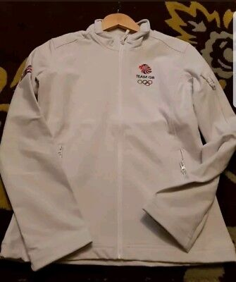 Olympic Team GB Athletes Issue woman.s Closing Ceremony Jacket Pyeongchang s/ m