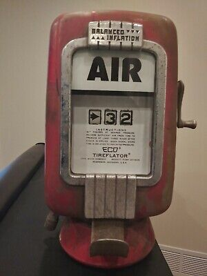 """Original Eco 97 Air Meter with Wall Mount """"Works"""""""