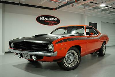1970 Plymouth Other AAR 1970 Plymouth Cuda AAR 39,782 Miles Tor-Red Coupe V8 4 speed manual
