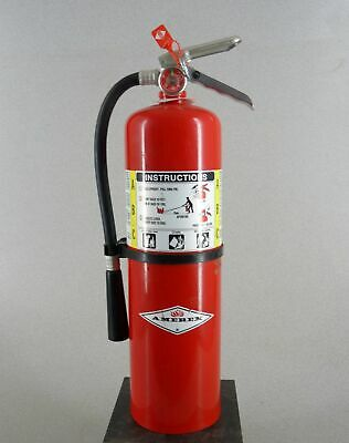 Amerex B456 10 lb ABC Fire Extinguisher Charged Dry Chemical Free Shipping