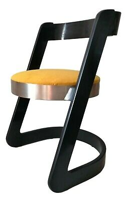 Chair Collectibles Manufacture mario sabot Design Willy Rizzo Years 70 Vintage