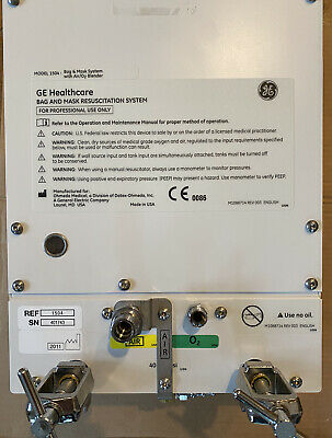GE Healthcare 1504 BAG AND Infant Resuscitation System