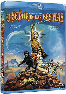 The Beastmaster NEW Classic Blu-Ray Disc Don Coscarelli Marc Singer