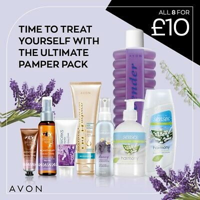 Ultimate Pamper Pack From Avon - 8 Items Worth £21