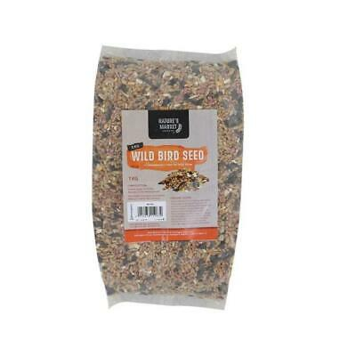 Wild Bird Seed Food Feed Mixture Garden Feeders Premium Pellet Cereal Pet 1 Kg