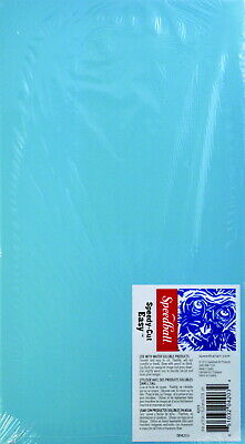 Speedball Speedy-Cut Flexible Durable Easy Block, 6 X 11 in, Blue