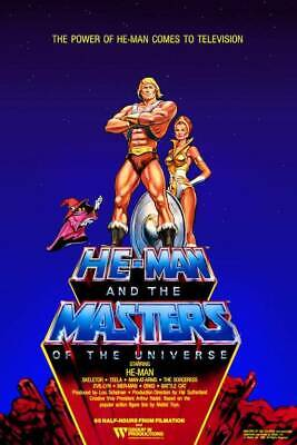 He-Man and the Masters of the Universe Television Series POSTER Teela Orko MOTU