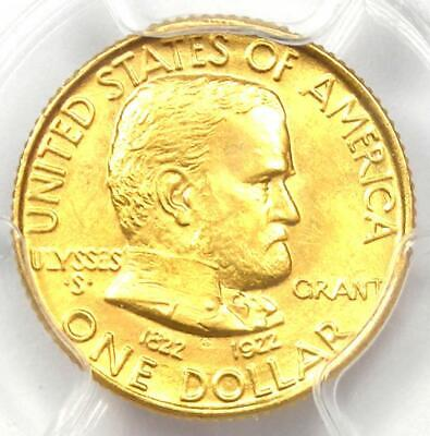 1922 Grant Gold Dollar G$1 - Certified PCGS MS66 - Rare Grade - $2,000 Value!