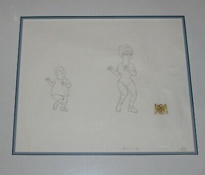 Original production drawing  - King of the Hill