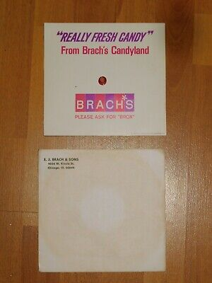 Brach's Laurel Goodwin 1965 MUSIC CANDY LOVERS Jingles Ad 33 1/3 Record Rare