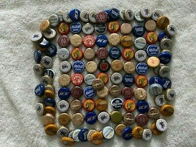 Lot of 120+ PREMIUM Beer Bottle Caps w/Craft Breweries *Great Mix!*See Pics