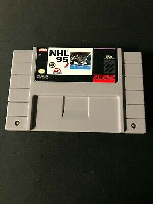 NHL 95 (Super Nintendo Entertainment System, 1994) Cart Only!