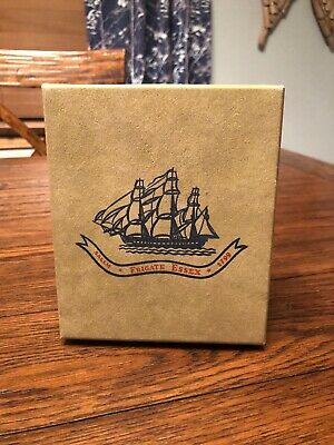 Vtg Early American Sailing Ship Old Spice Men's Box Set Box Only
