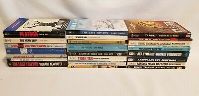 Military / War / Aviation - Fiction Books, Pick 1 or more titles, all PB's